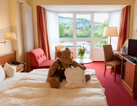 Zimmer-Komfort-Burgunder
